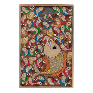 BENGAL PATTACHITRA : Marriage of Fish