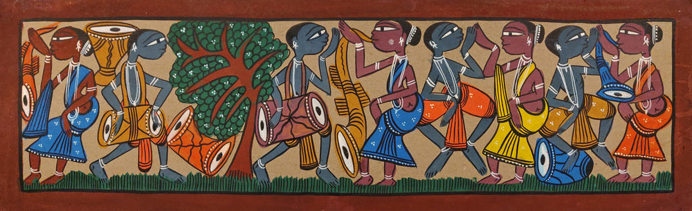 BENGAL PATTACHITRA : Santhal Music and Dance