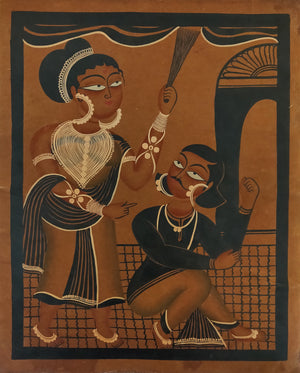 Load image into Gallery viewer, KALIGHAT : A Husband-Wife Fight