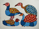 GOND : Four Birds