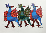 GOND : Strutting Birds