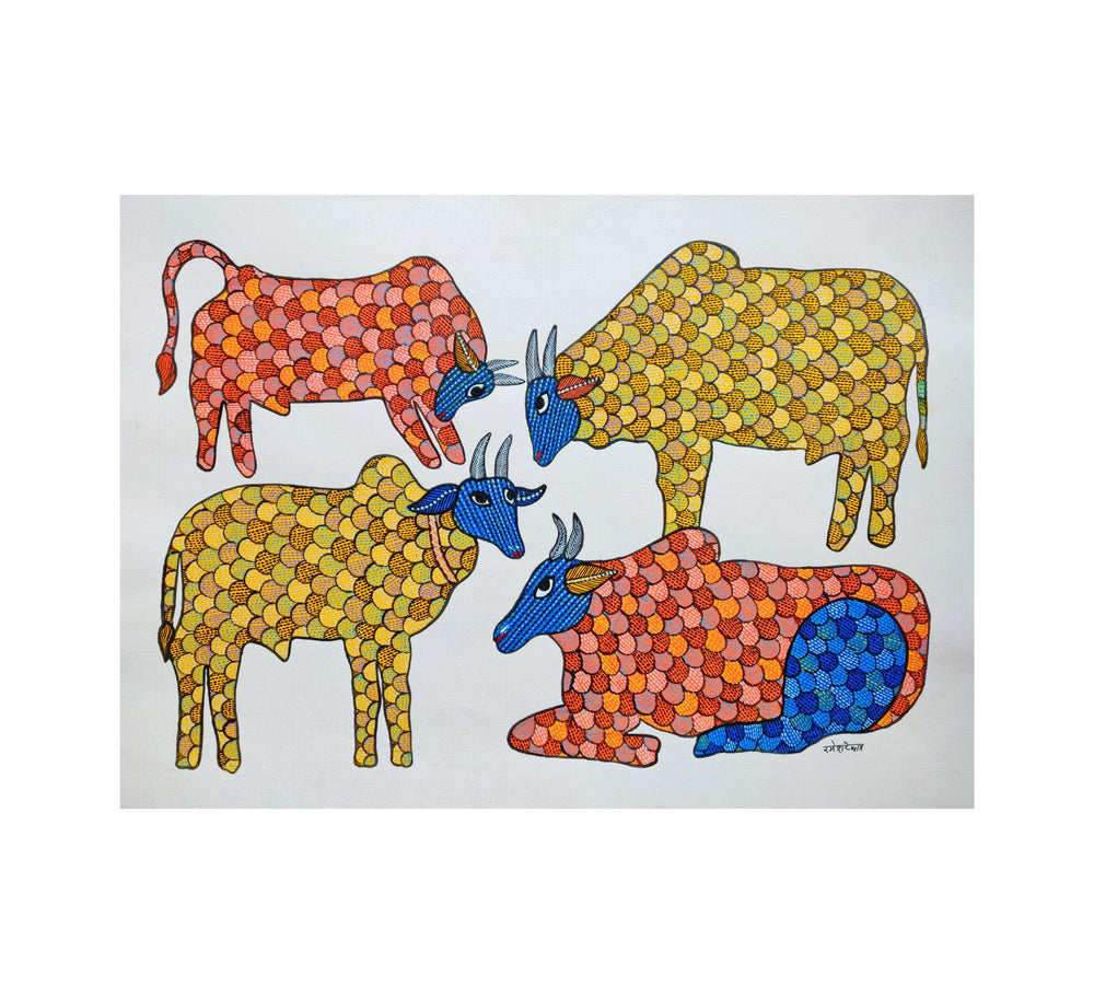GOND : Cows and Bulls
