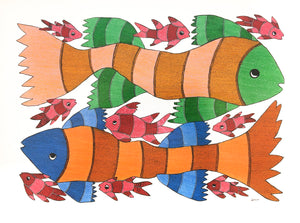 GOND : Fish Family