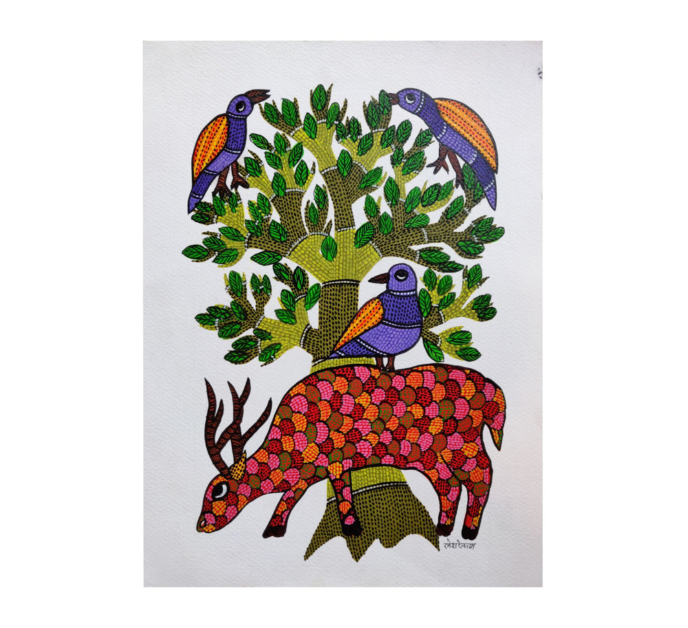 GOND : Resting with the Tree of Life