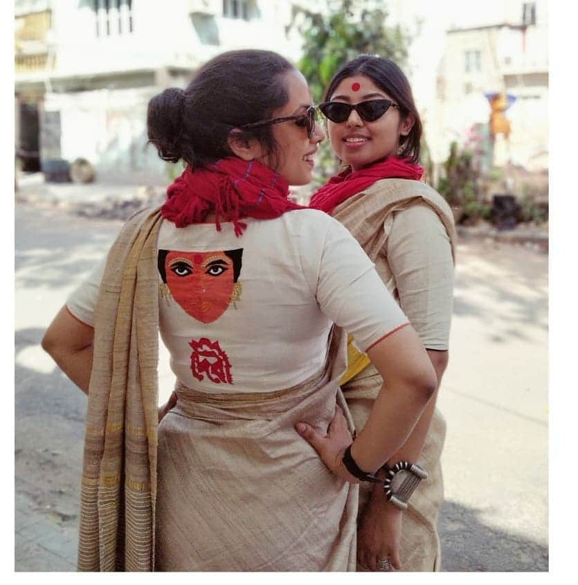 White Debi Blouse