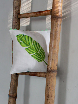 Load image into Gallery viewer, Tropical Banana Leaf Cushion Cover