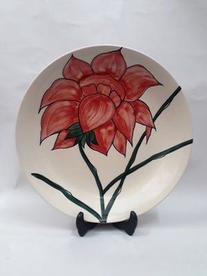 JARDIN PLATTER - Red