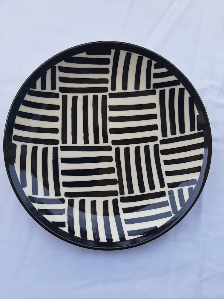 Kakuro Square Design Quarter Plates