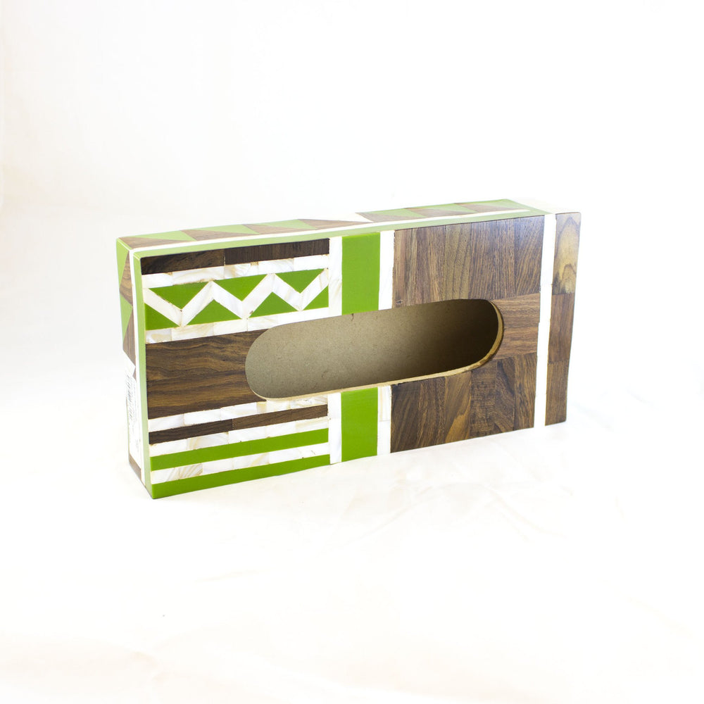 Cubist Tissue Box
