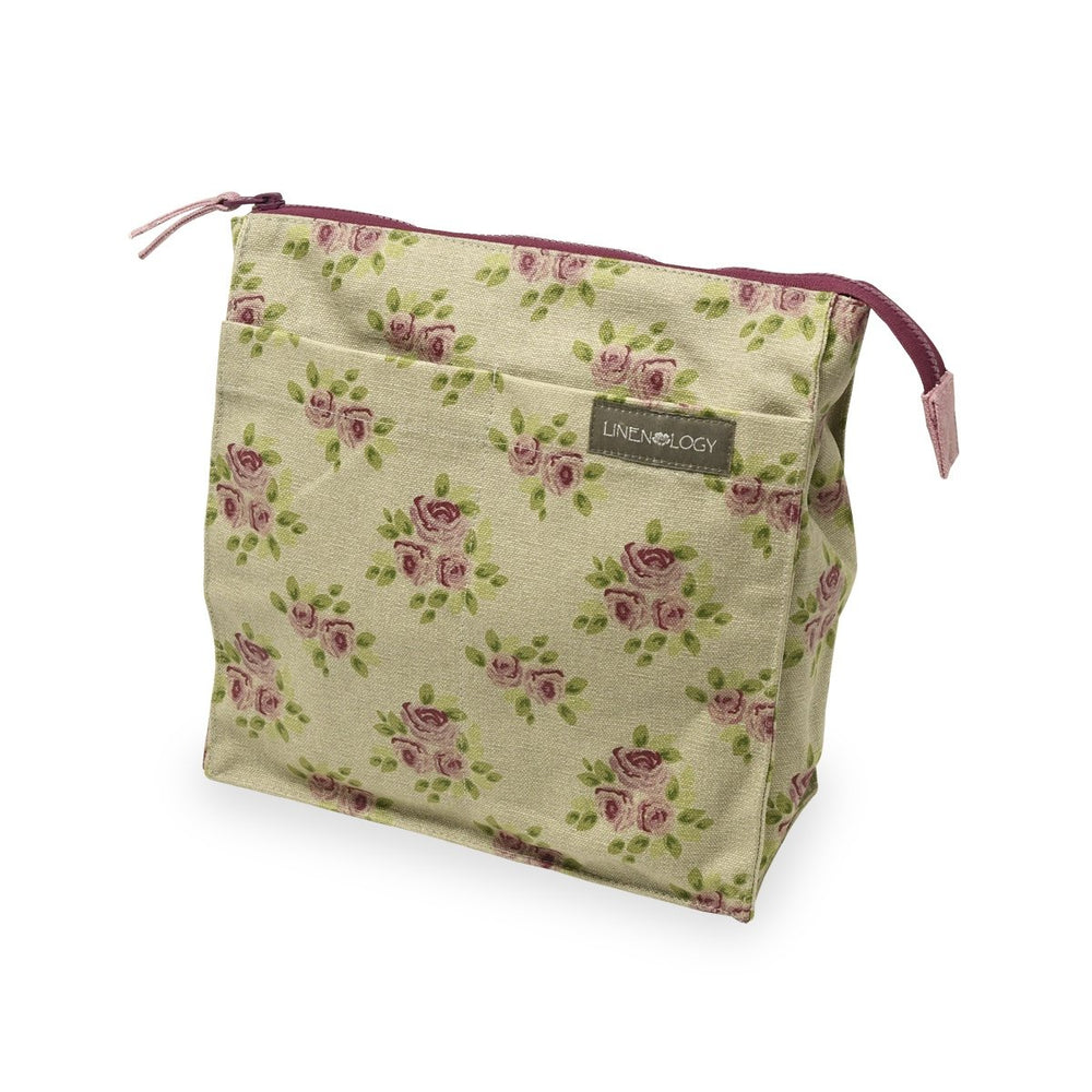 Wash Bag Tall - Vintage Rose