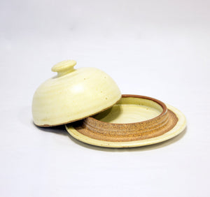 Load image into Gallery viewer, Céramique Butter Dish Ivory