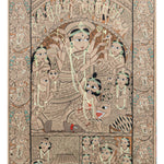 BENGAL PATTACHITRA : Durga scroll