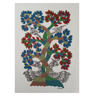 Gond : Lovers Tiff