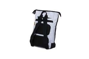Load image into Gallery viewer, Tarpaulin Backpack White