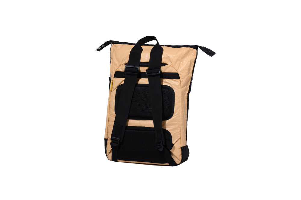 Tarpaulin Backpack Paper