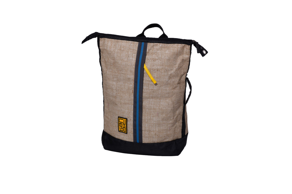 Tarpaulin Backpack Jute