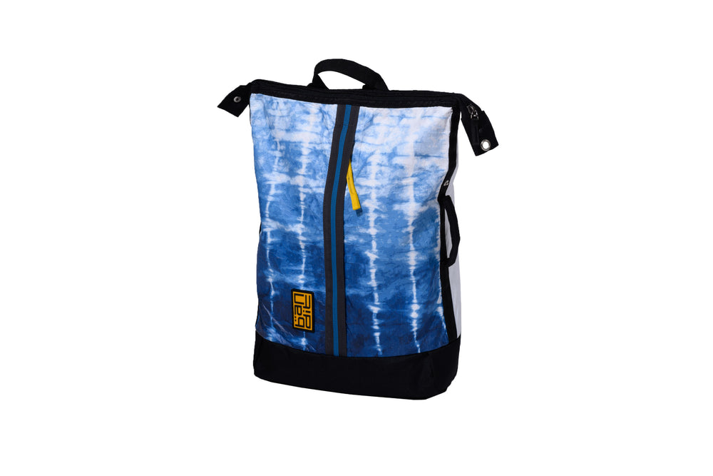 Load image into Gallery viewer, Tyvek Backpack Shibori