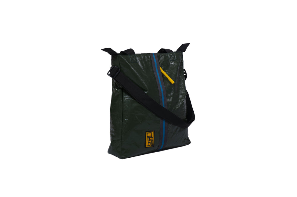 Load image into Gallery viewer, Tarpaulin Tote Green