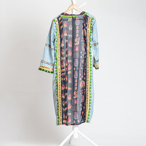 Indian long zig zag Jacket