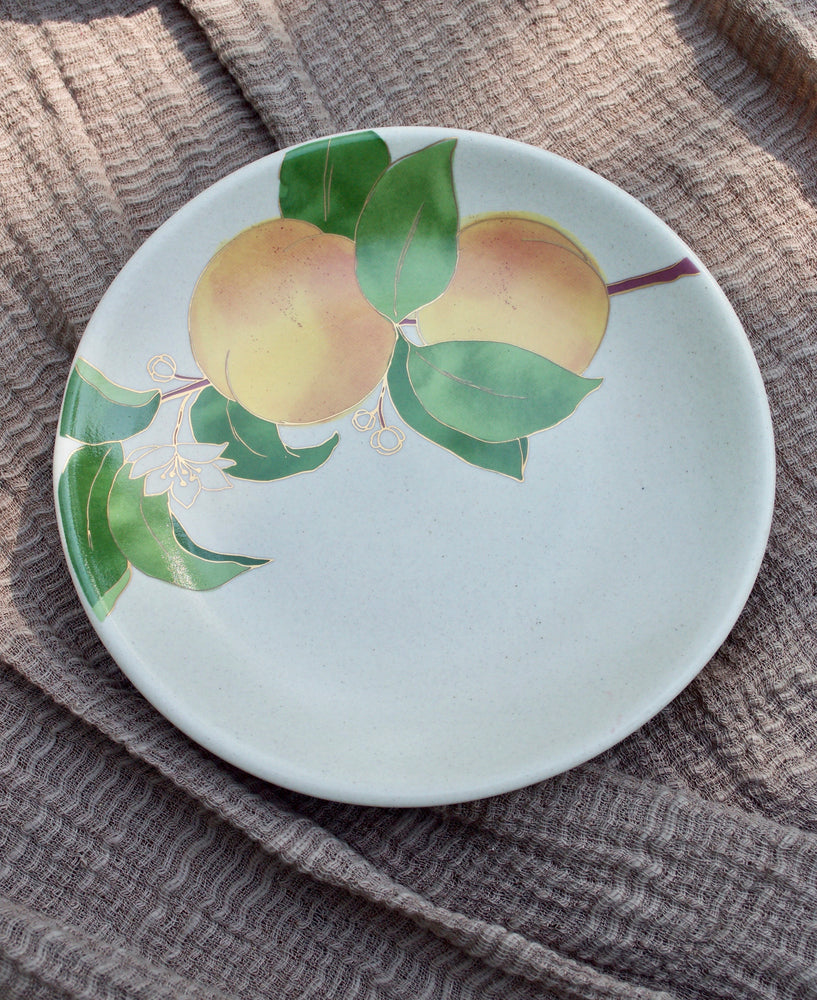 Postcards from Simla - Apricot Appetizer Plates (Set of 4)