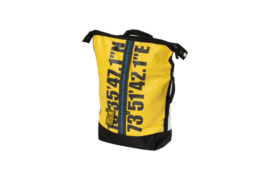 Tyvek Backpack Latlong Yellow