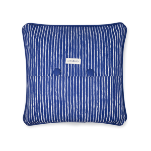 Load image into Gallery viewer, Cushion Cover - India Ink - Indigo