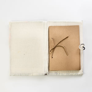 Upcycled Cloth Diary