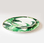Green Pastrol Plates Set of 2