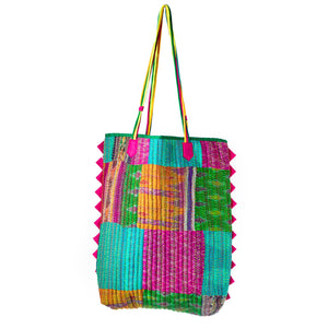 Load image into Gallery viewer, Kantha Tote Bags