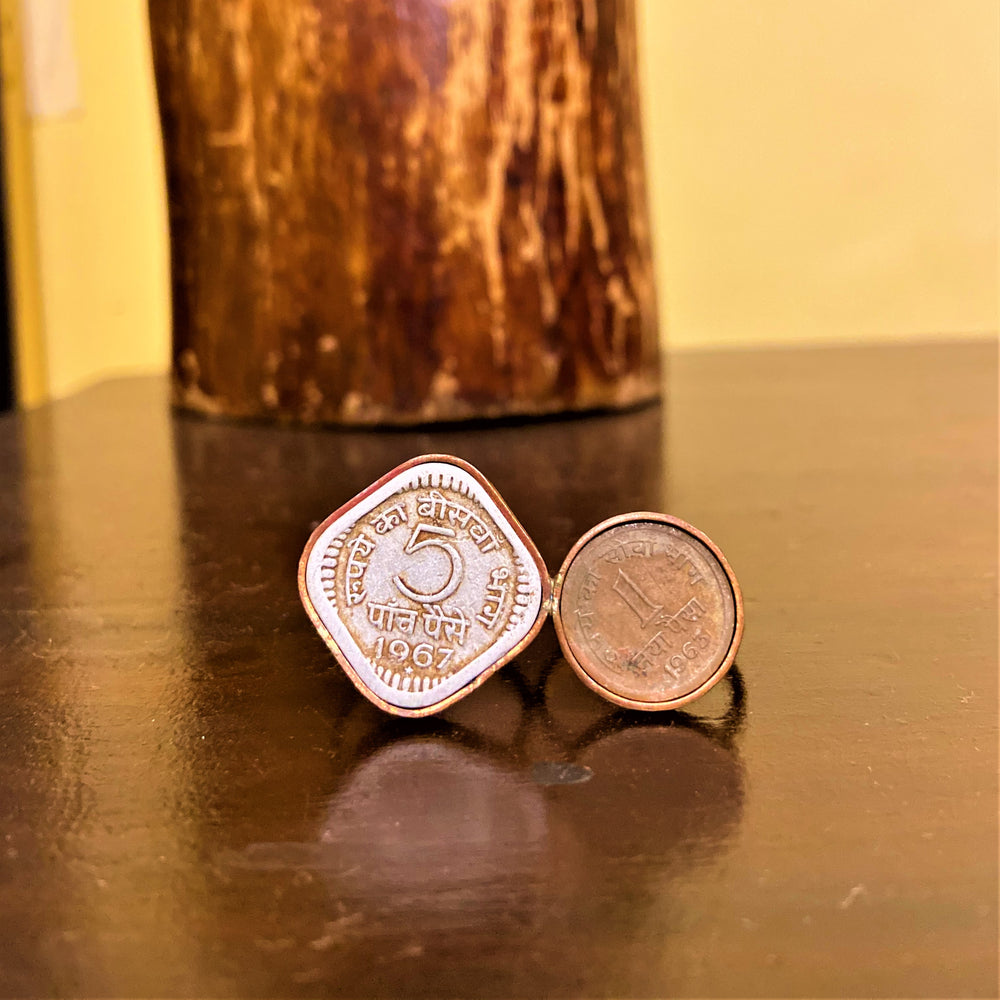 COIN EMBED 5P & 1P RING