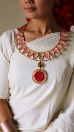 LOTUS PETAL NECK PIECE