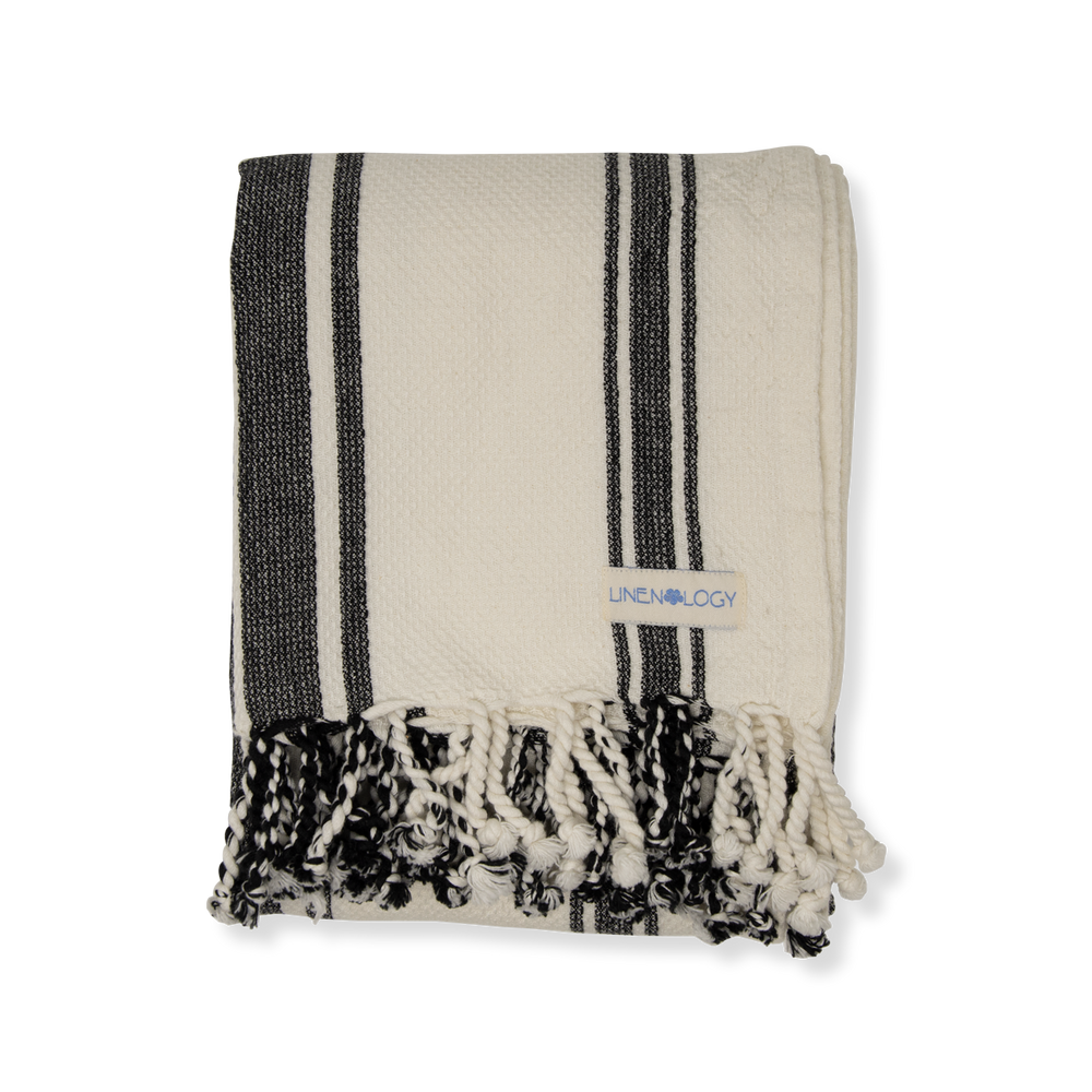 Load image into Gallery viewer, Hammam Towel - Stripes
