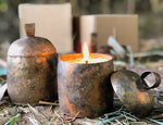 Copper Bell Candle