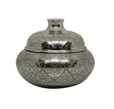 Silver Lota Candle