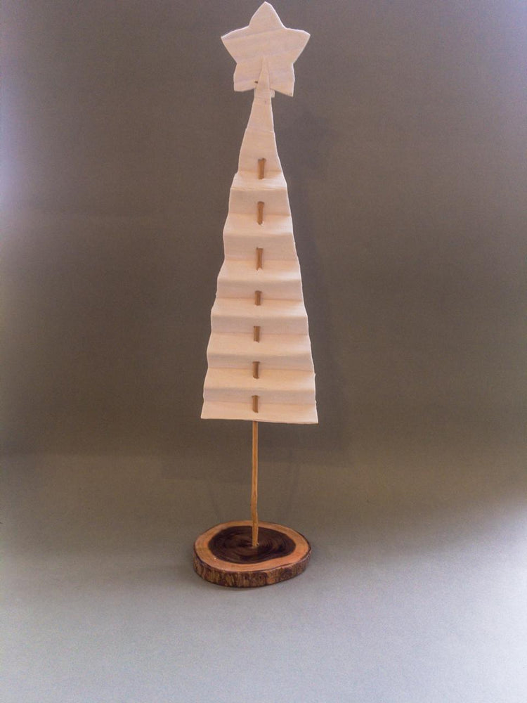 Load image into Gallery viewer, Shola & Wood Xmas Tree