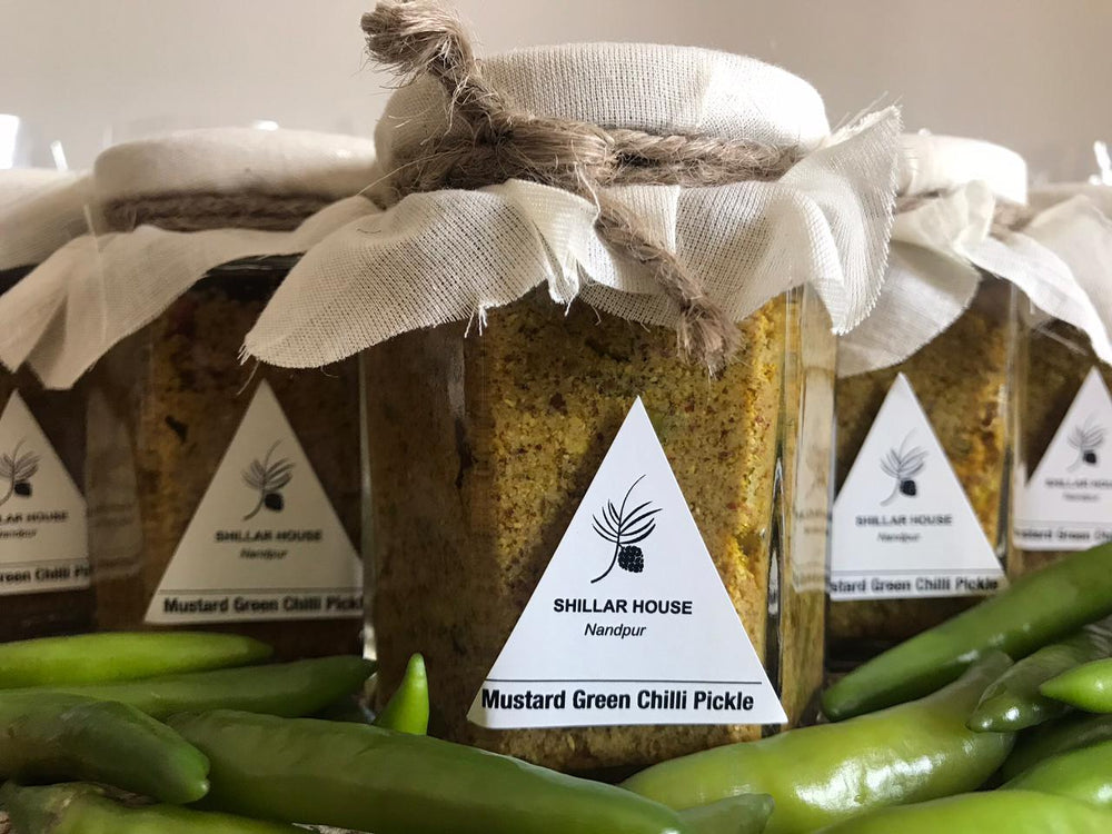 Mustard Green Chilli Pickle