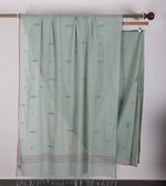 Multi Jamdani Powder Green Saree