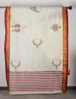 Maroon Gorod All Jewellery Saree