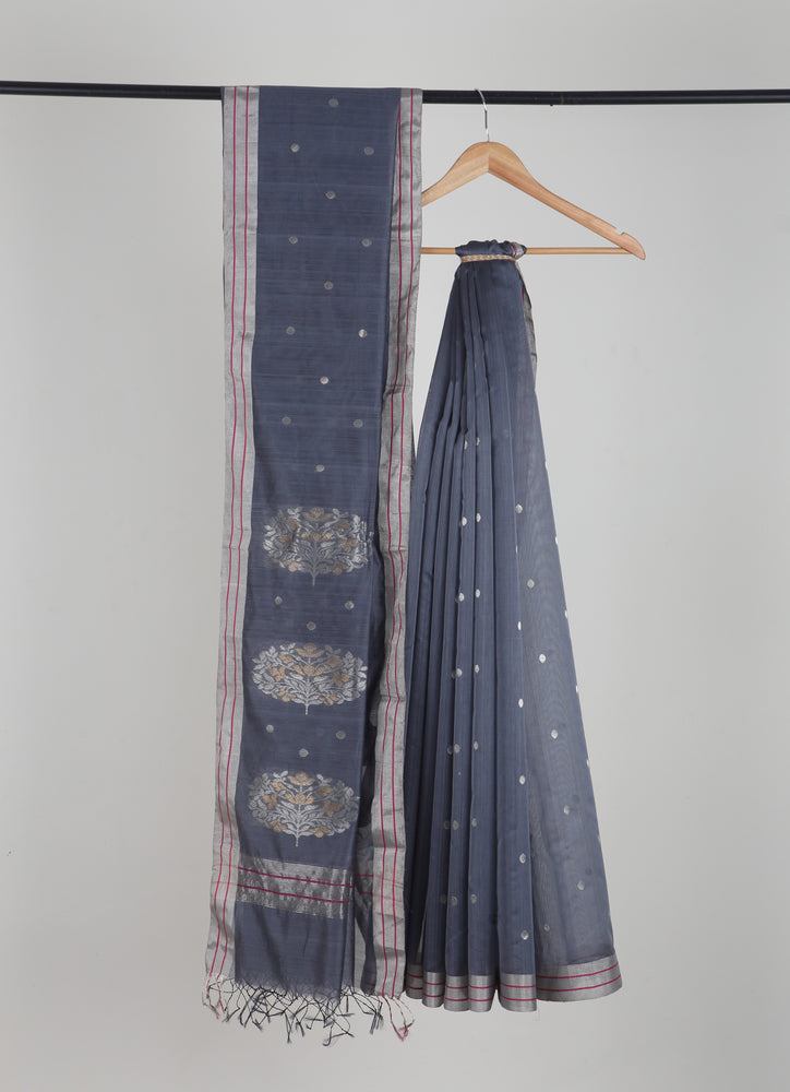 Kaisori Chanderi Silk Cotton Saree