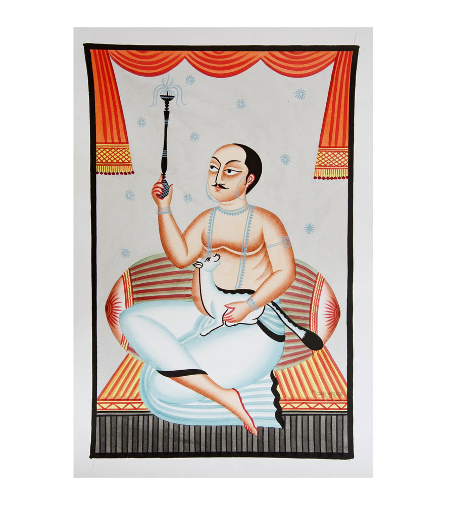KALIGHAT :  A Hookah and a Fat Cat!