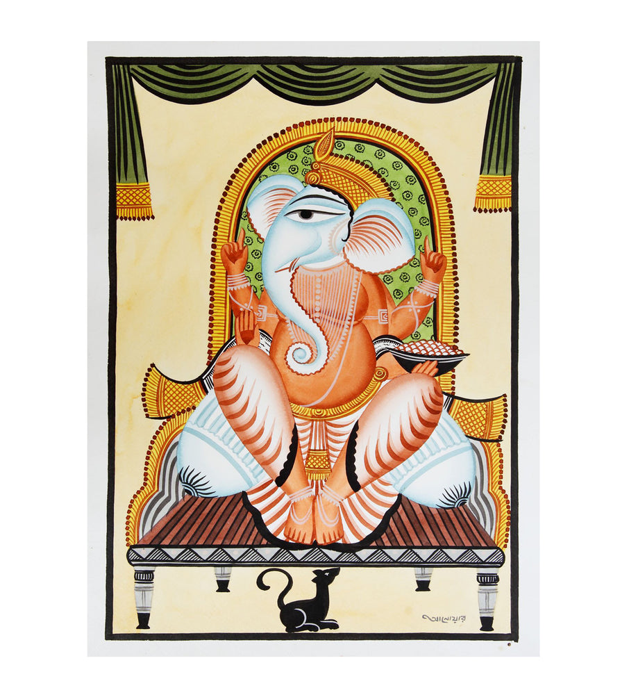 KALIGHAT : The Blessed Ganesh