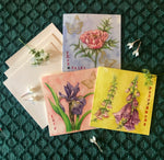 Notecards S/3 - Mountain Blooms