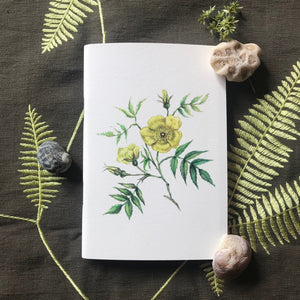Notebook - Butter Yellow Roses