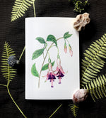 Notebook - Purple Fuchsia