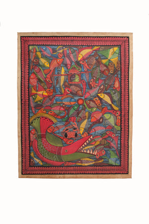 BENGAL PATTACHITRA: FISH GAMES