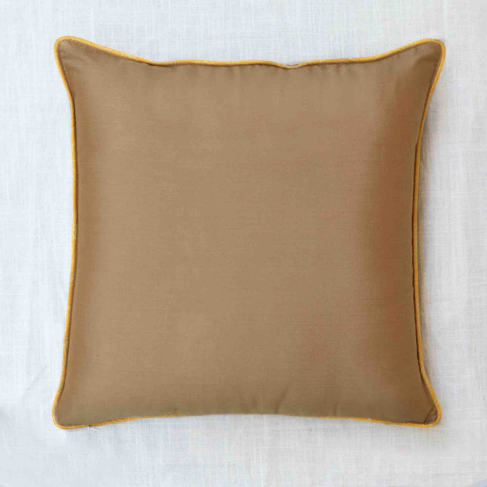 Khusro Black Cushion Cover