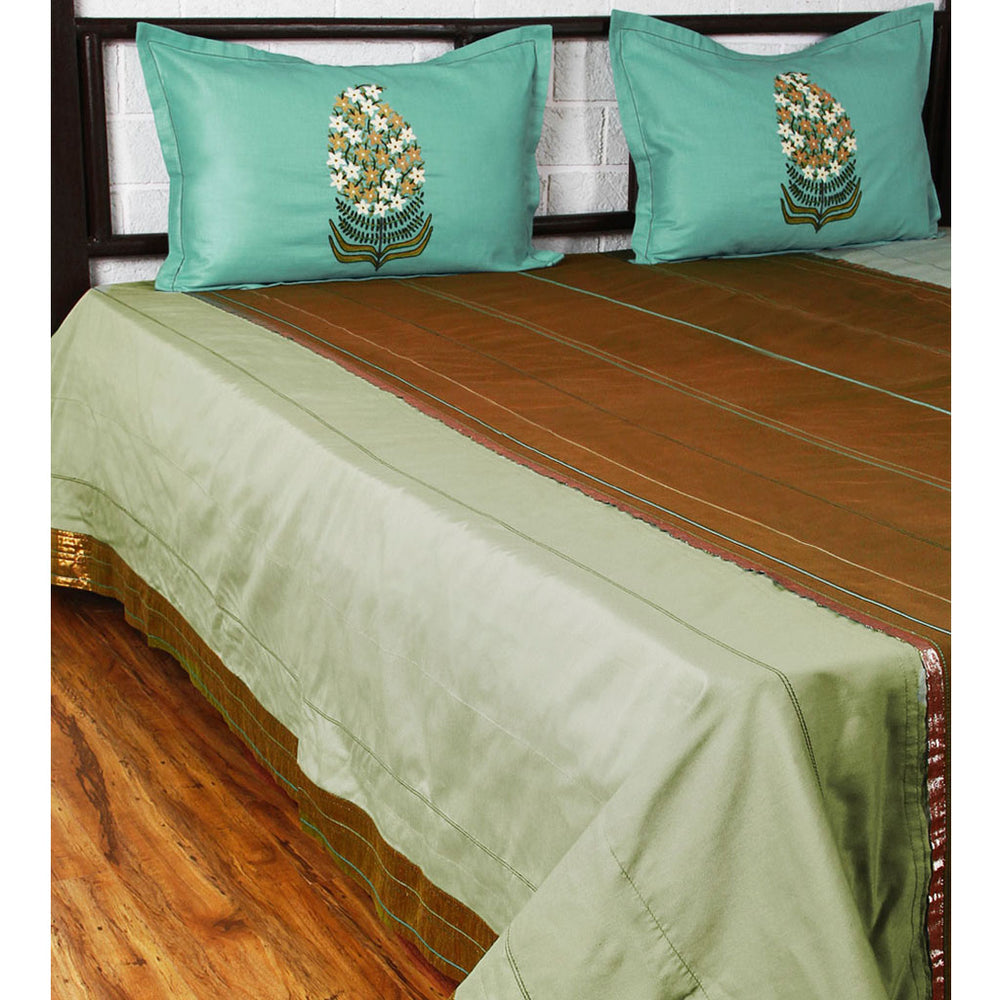 Load image into Gallery viewer, Kairi Marg - Olive Bed Cover