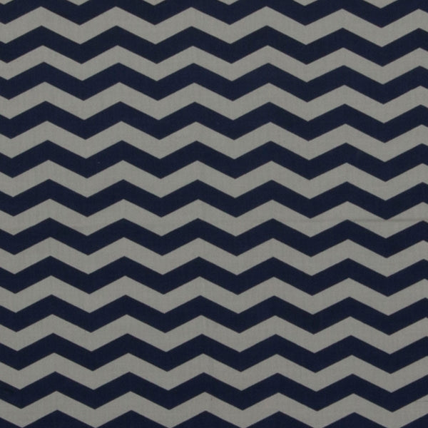 Load image into Gallery viewer, Lazy Chevron - Dark Blue on White