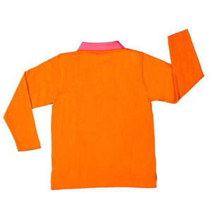 Marigold Polo Tshirt with Full Sleeves