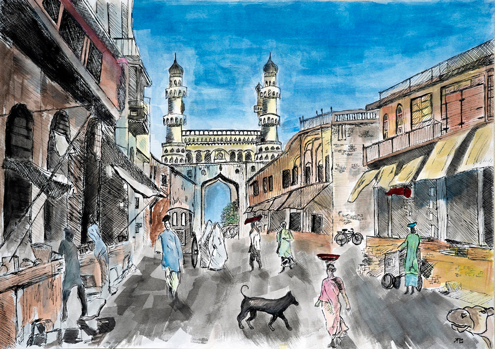Load image into Gallery viewer, Charminar, Hyderabad